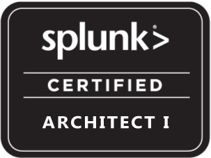 Splunk Certified Architect Infosec Professional